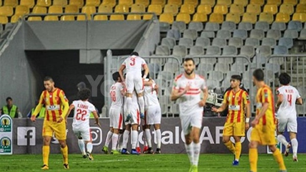 نتيجة مباراة الزمالك ونصر حسين داي بث مباشر نتيجة ماتش الزمالك