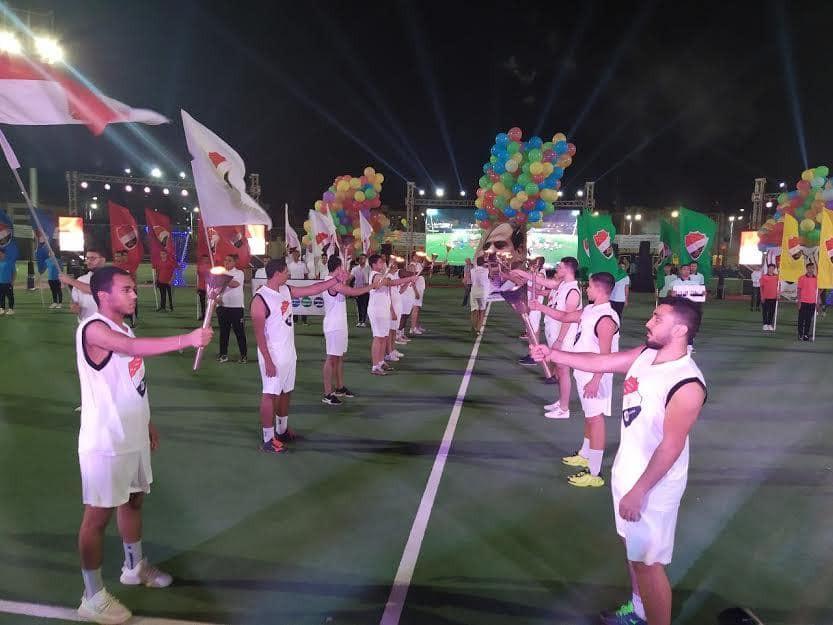 افتتاح دورى الشركات ببورسعيد