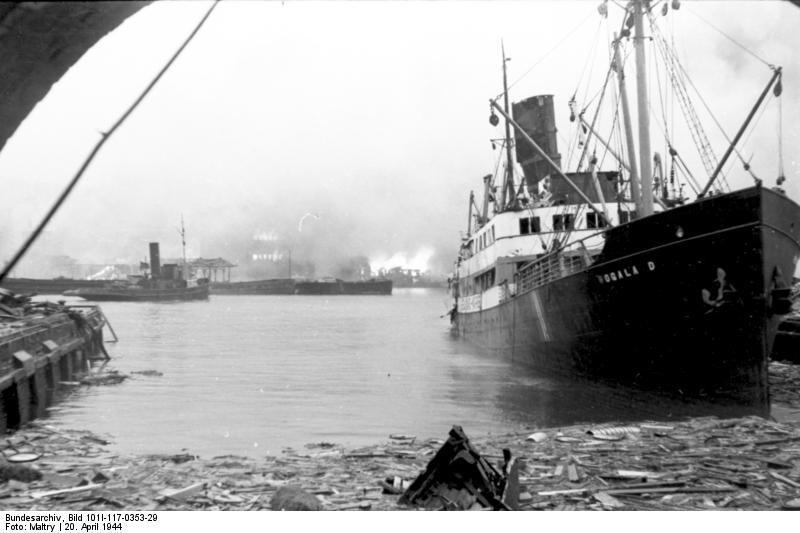 انفجار ميناء بيرغن