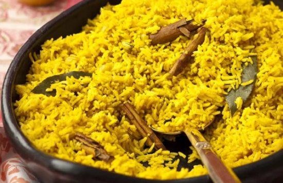 طريقة عمل الرز البسمتي