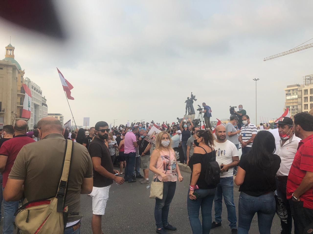 مظاهرات في بيروت