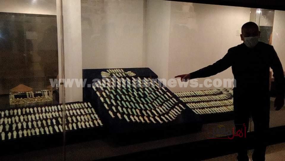 من المنيا إلى الأقصر عرض 1000 تمثال اُشبي بمتحف الأقصر لأول مرة