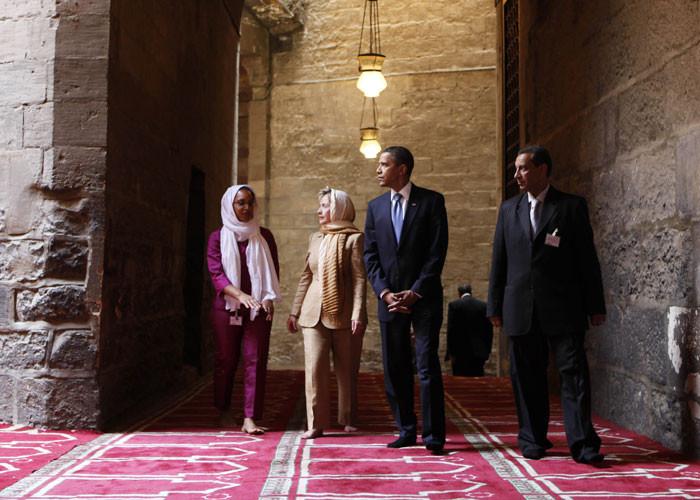 أوباما يزور مساجد