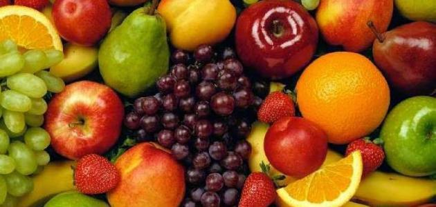 تناول الفاكهة