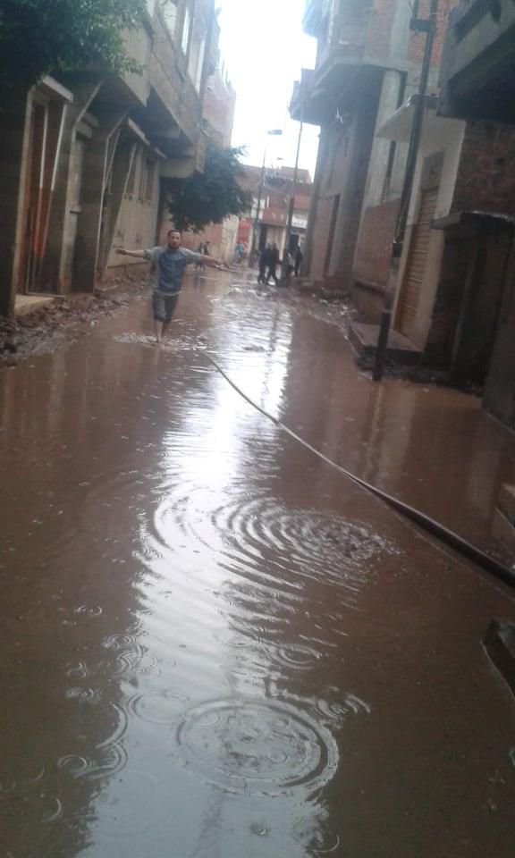 قرى مهددة بالغرق بالغربية