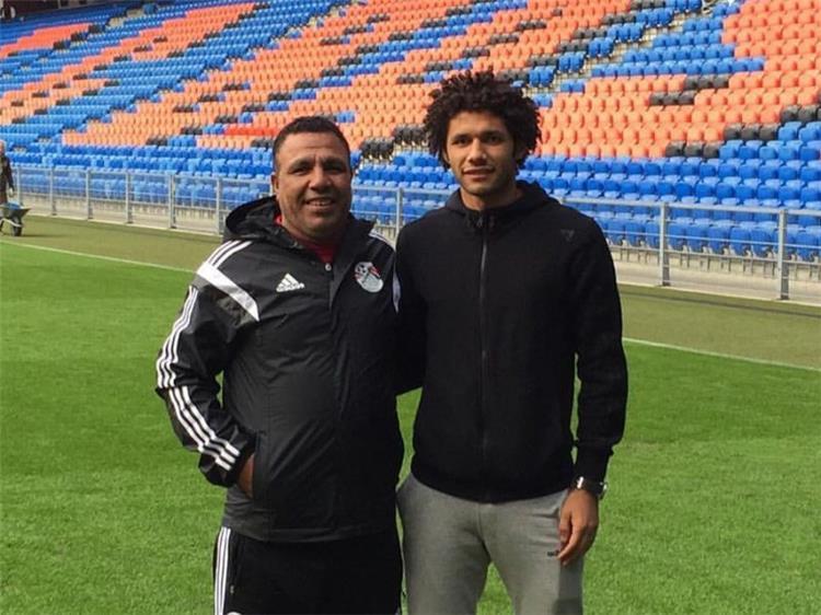 محمد النني ووالده