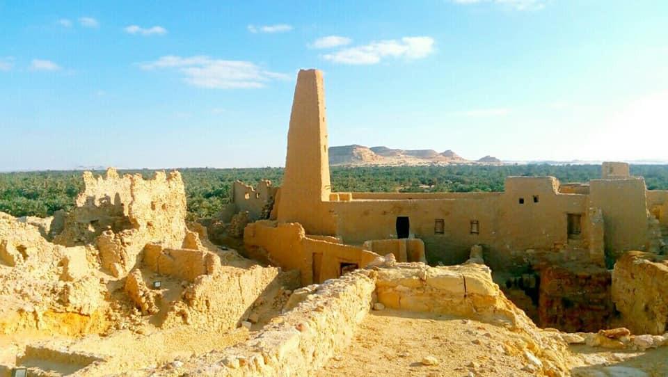 معبد امون في شالي سيوة