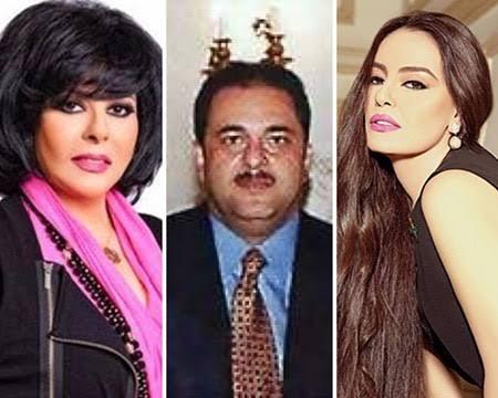 شريهان وإسعاد يونس وزوجهما علاء الخواجة
