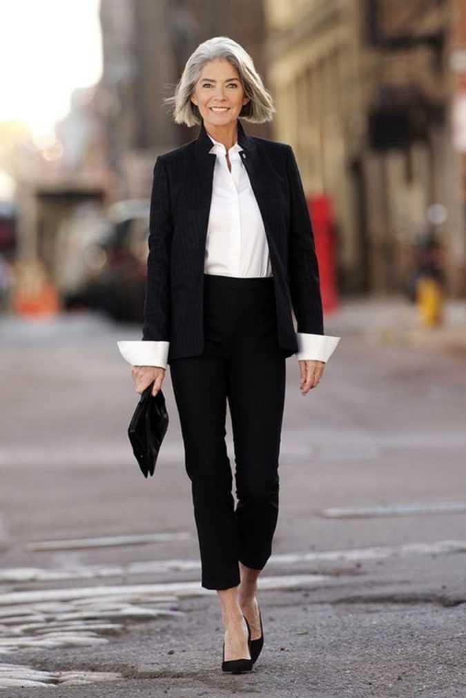 أزياء تناسب امرأة الـ 50