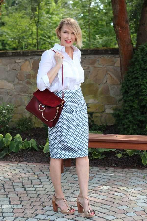 أفكار أزياء تناسب امرأة الـ 50