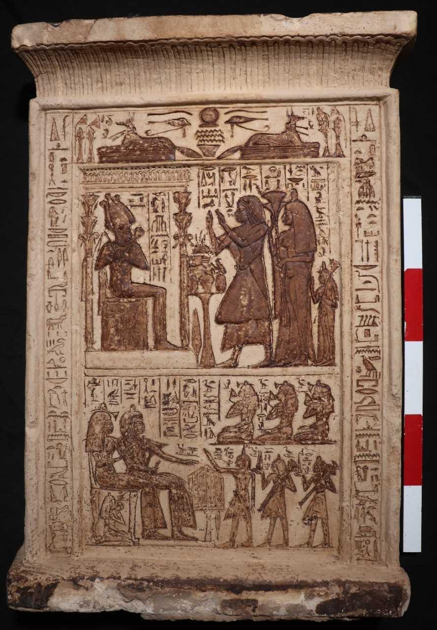 الكشف عن المعبد الجنائزي الخاص بالملكة نعرت زوجة الملك تتي