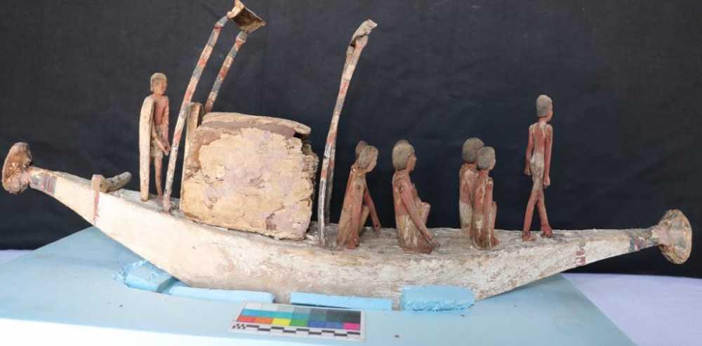 الكشف عن بردية طولها ٤ أمتار بها نصوص الفصل ١٧ من كتاب الموتى