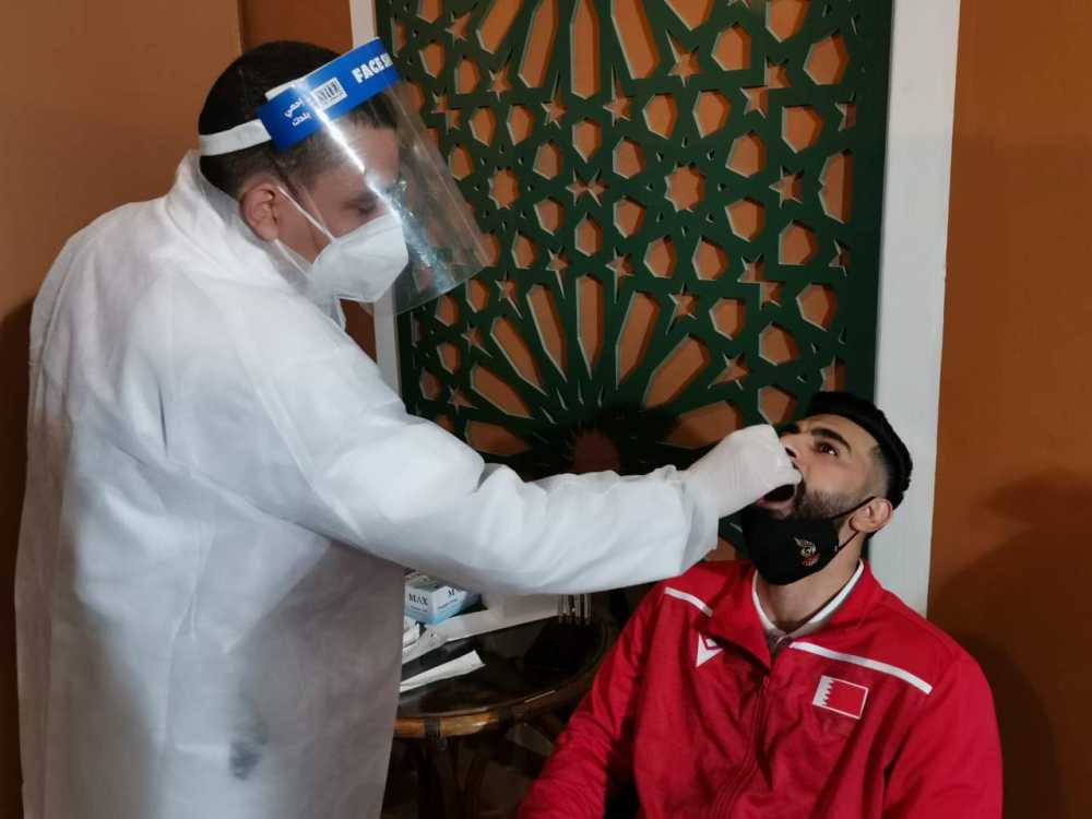 اللجنة الطبية لبطولة كأس العالم لكرة اليد: إجراء تحليل ال