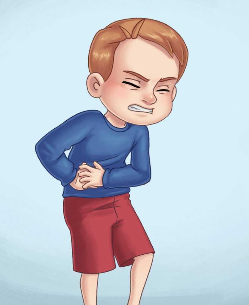 ألم الصدر عند الأطفال
