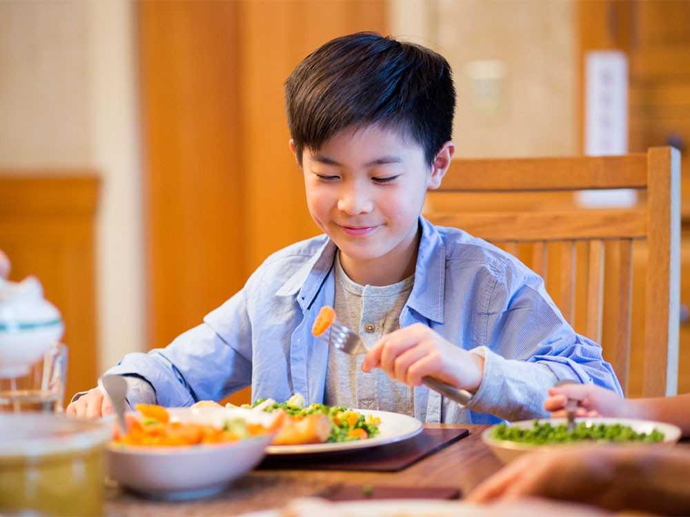 تغذية الأطفال من 5- 8 سنوات