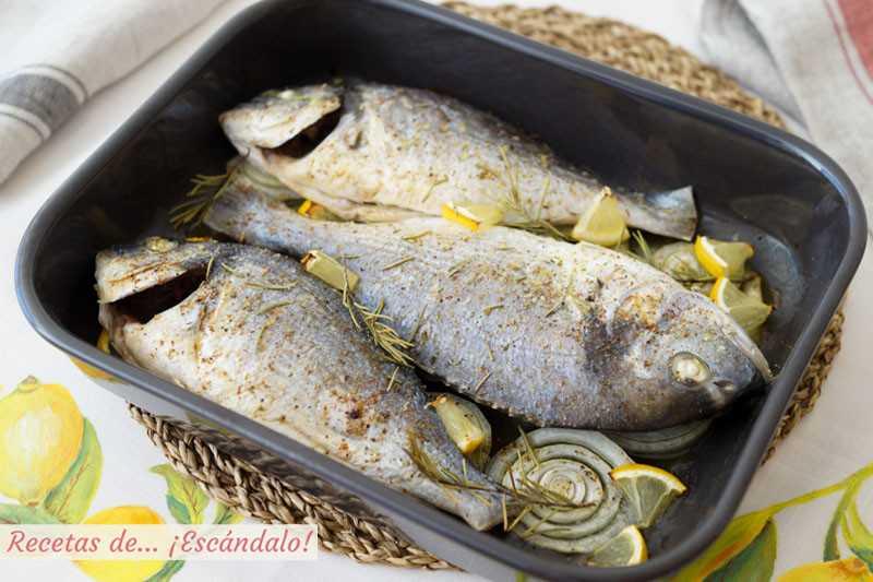 طريقة عمل سمك الدنيس في الفرن