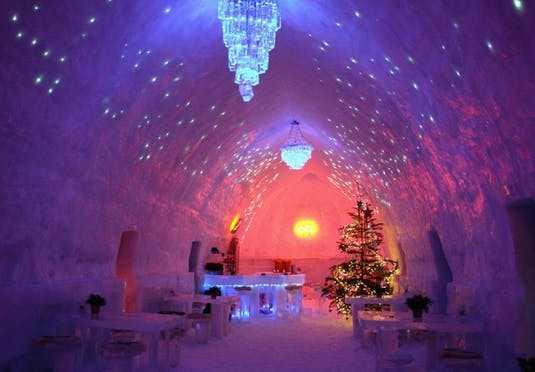 فندق الجليد في رومانيا