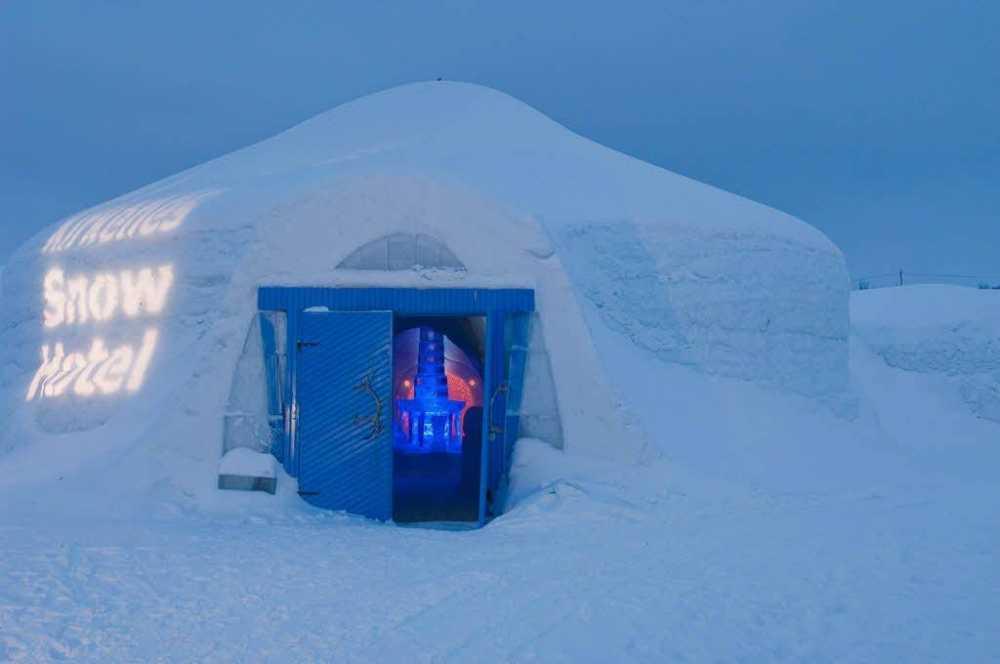 فندق للجليد