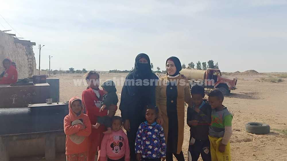 محررة أهل مصر داخل قرية اللقيطة في قنا