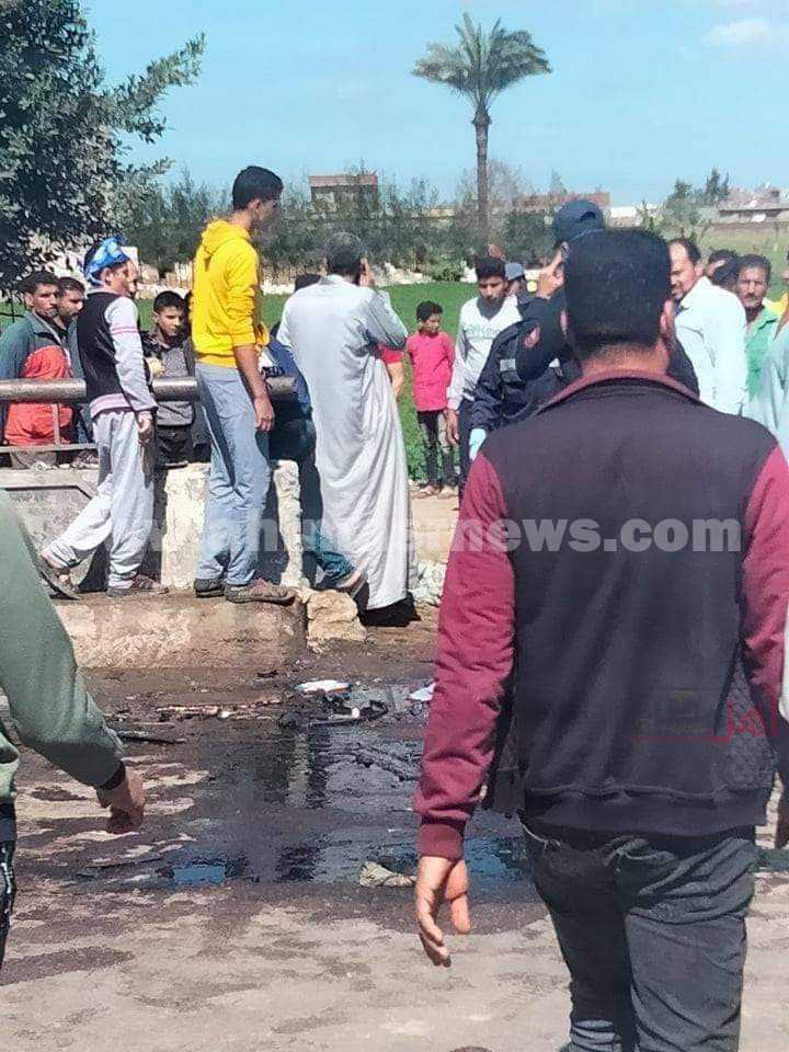 مصرع وإصابة 16 شخص في حادث بالبحيرة