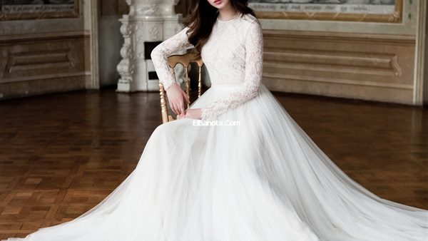 f96cad5a00831 أهل مصر  بالصور.. أحدث تصميمات فساتين زفاف 2017