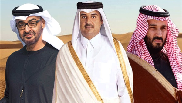 ترامب يلتقي بن سلمان وبن زايد وتميم لبحث الأزمة الخليجية