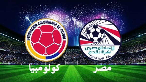 تردد قناة اون اسبورت الناقلة مباراة مصر وكولومبيا الودية