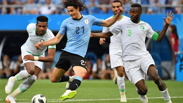 أهل مصر نتيجة مباراة السعودية والارغواي اليوم