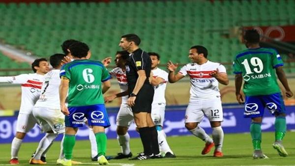 أهل مصر ملخص مباراة الزمالك ومصر المقاصة اليوم 29 1 2019