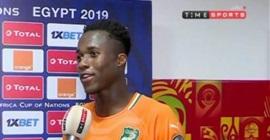 لاعب منتخب كوت إيفوار يشيد بتنظيم مصر لبطولة أمم أفريقيا تحت 23 عام